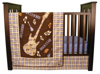 Trend Lab Rockstar Baby Bedding and Accessories - Baby ...