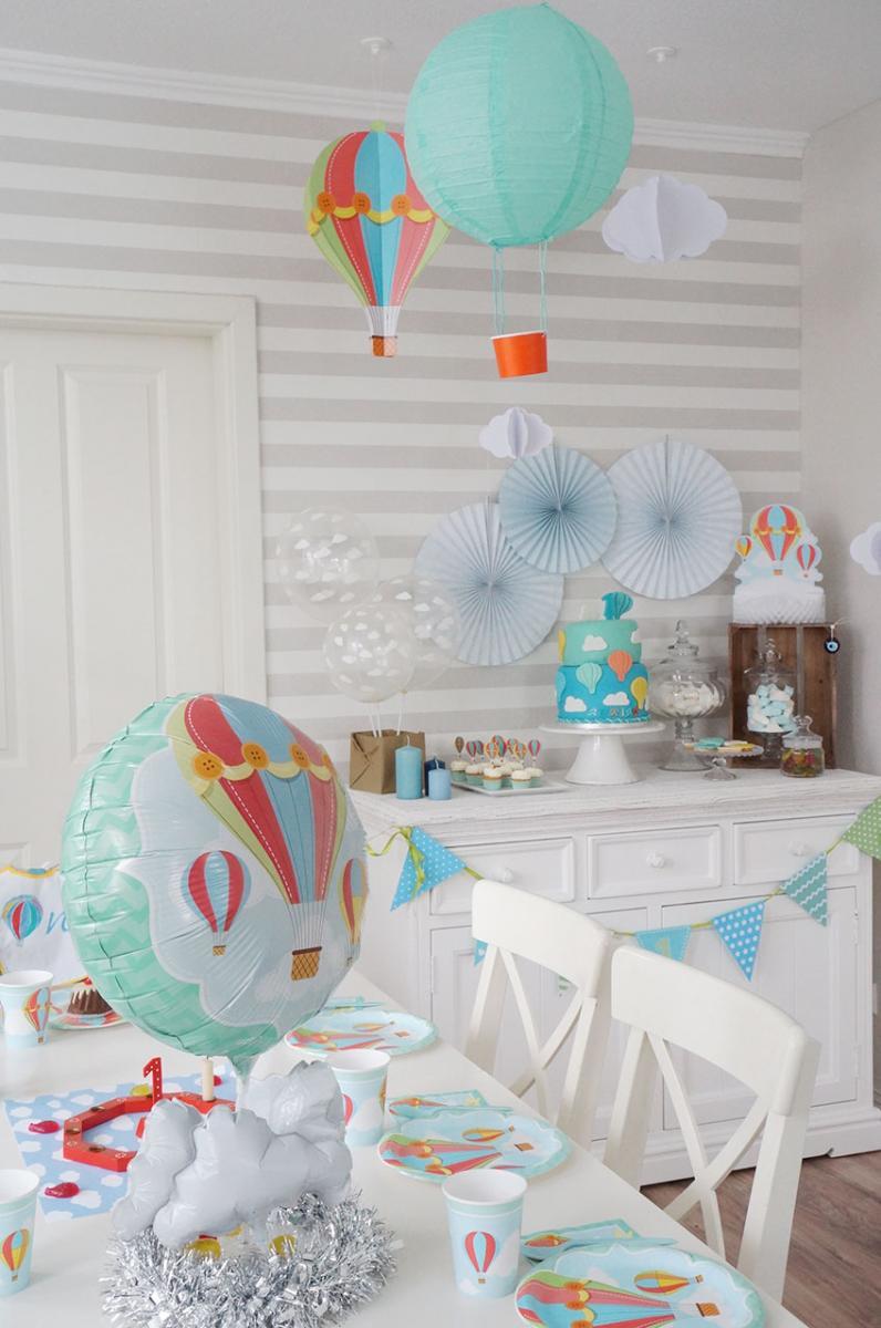 DIYTipps fr den 1 Geburtstag kleiner berflieger  Baby