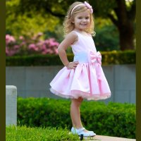Dolls and Divas Couture Austin Pink Toddler Party Dress