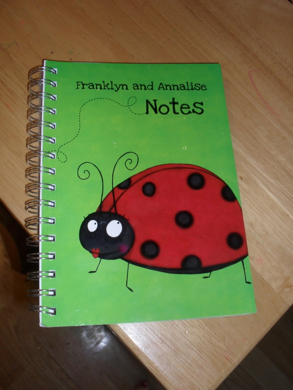 The Funky Pigeon Notebook Review Baby Budgeting