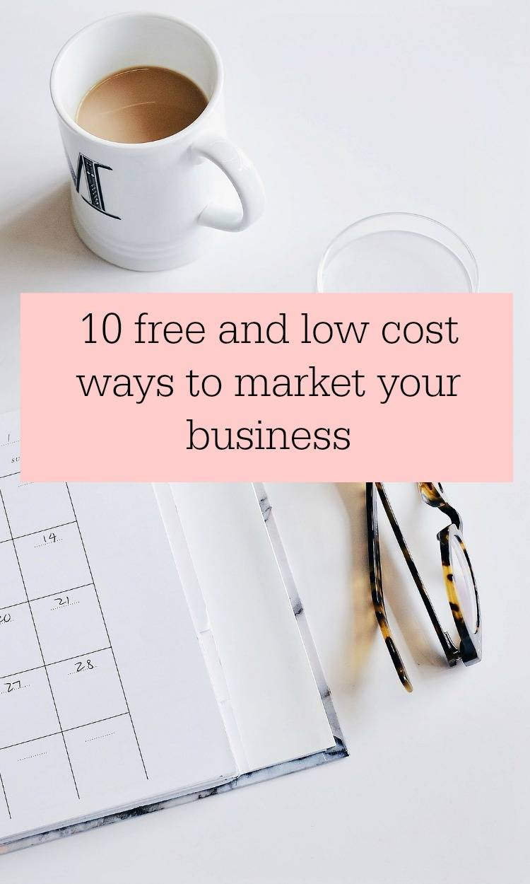 low cost ways to market your business