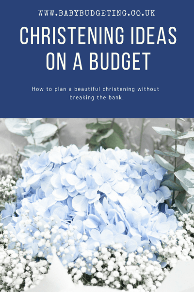 Christening Ideas On A Budget, christening on a budget