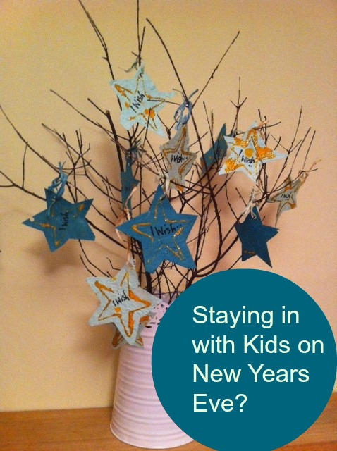 Staying in with Kids on New Years Eve
