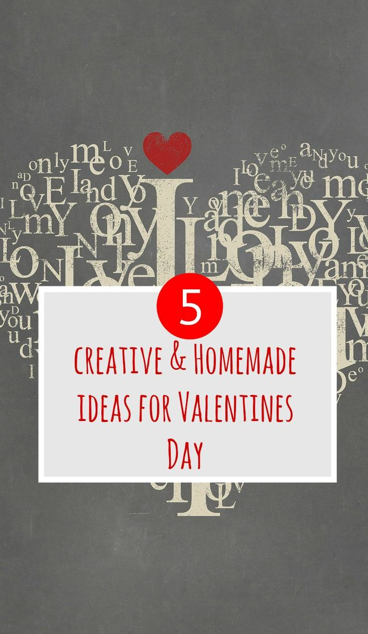 homemade ideas for Valentines Day