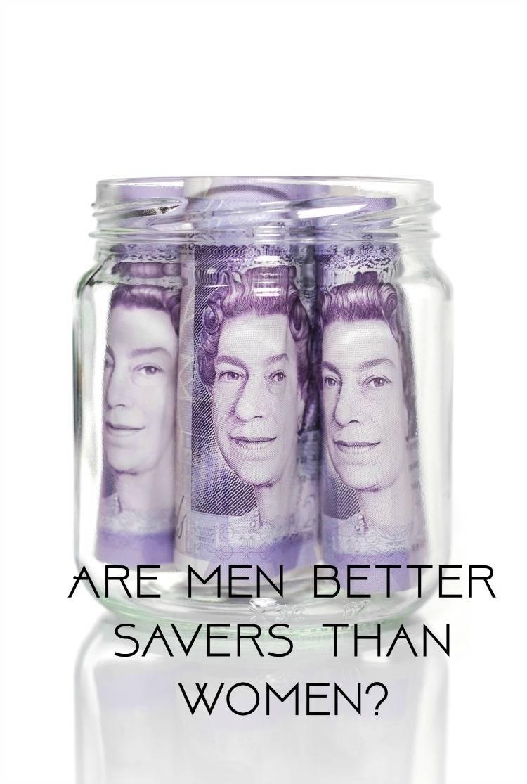Are men better savers than women