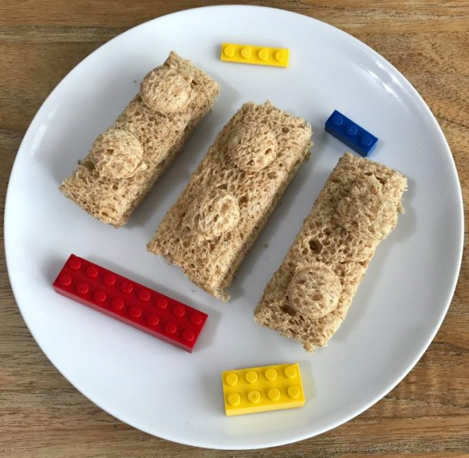 Lego sandwiches, lego brick sandwiches, lego food, Ninjago Party Ideas, lego ninjago party ideas