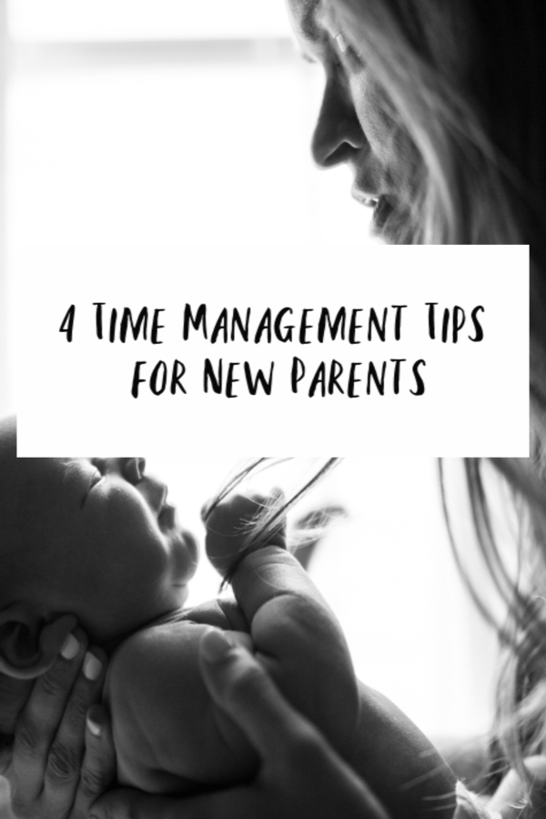 Time Management Tips for New Parents