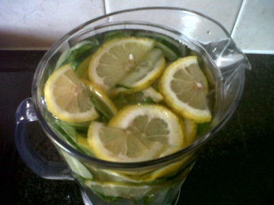 sassy water recipe