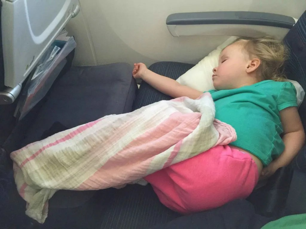 toddler airplane travel bed fly tot