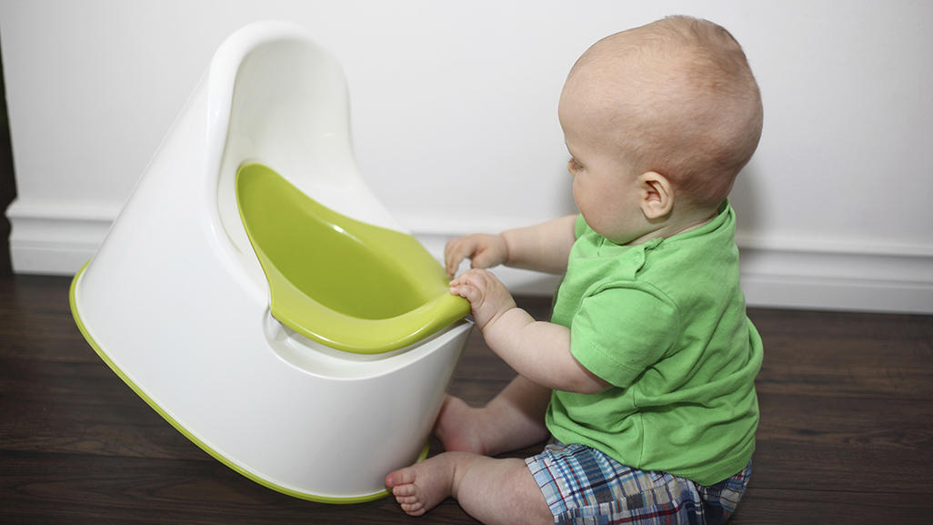 potty chair large child adirondack chairs plastic infant training what it is and how to do babycenter