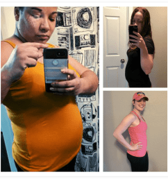several women showing off their 6 weeks pregnant belly bumps [ 1137 x 1137 Pixel ]
