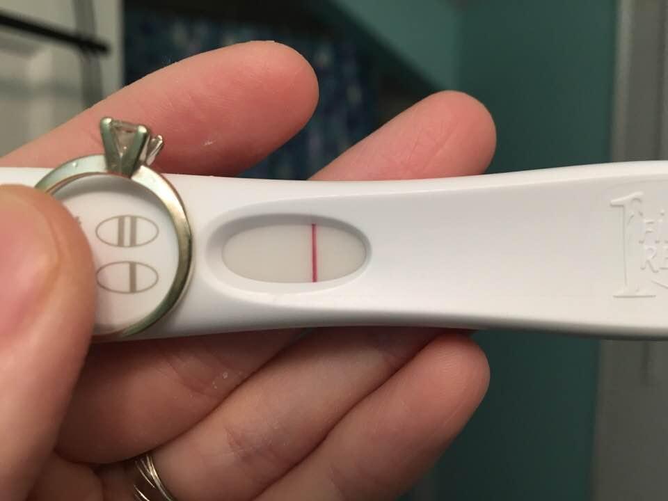 Every month I feel like I'm pregnant but I test negative ...