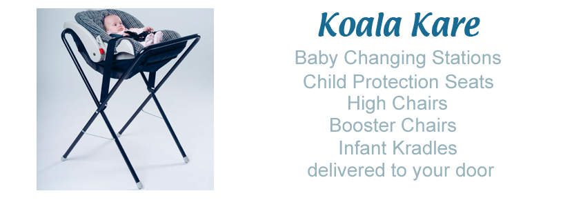 portable high chair booster swivel child koala bear kare - baby changing station, genuine products!