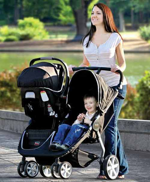 Britax BAgile Double Stroller Review  Baby Chattel