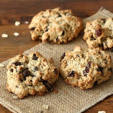 20 merende dietetiche e sane per bambini - biscotti avena
