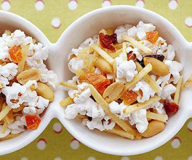 20 merende dietetiche e sane per bambini - spuntino mix