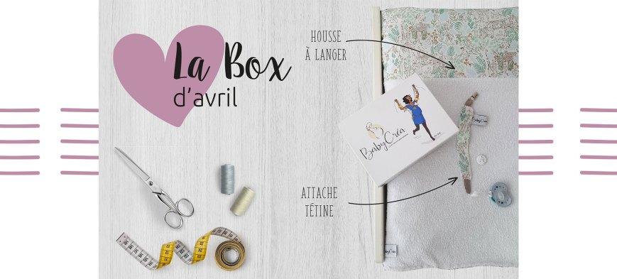 BabyCréa box chambre housse langer attache tétine