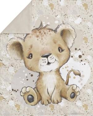 couverture-plaid-lionceau-bébé-fait-main-artisanale-made-in-france