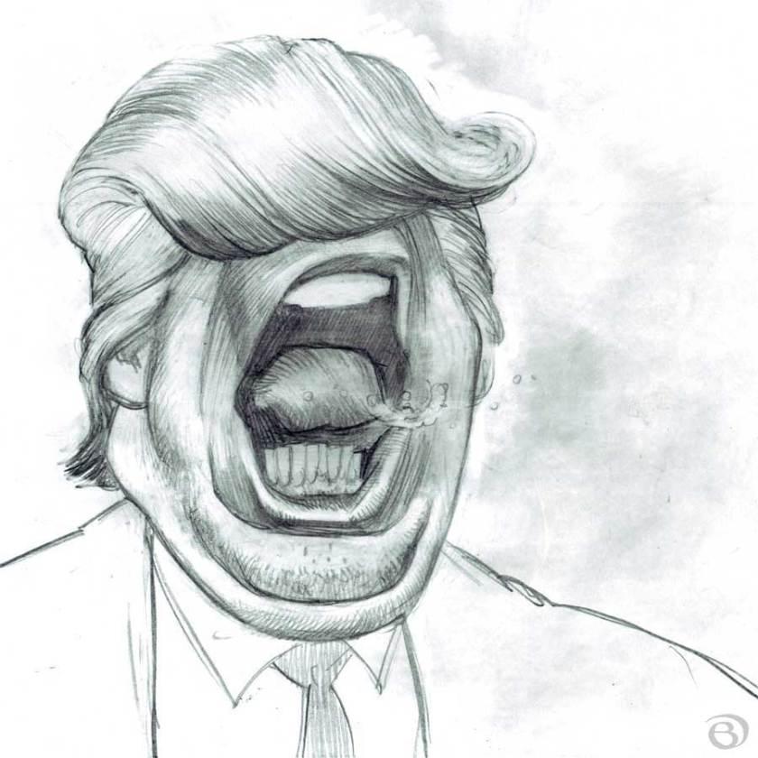Yellingtrump-caricature-03