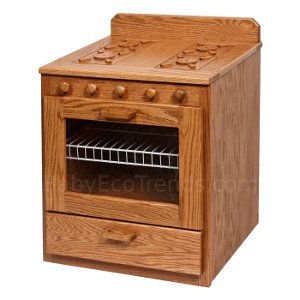 solid wood toy kitchen brick effect wall tiles usa made natural children s toys amish child play stove
