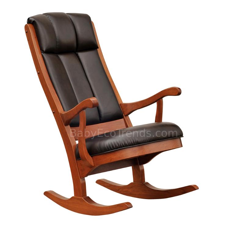 Amish Serenity Rocking Chair  Solid Wood Nursery