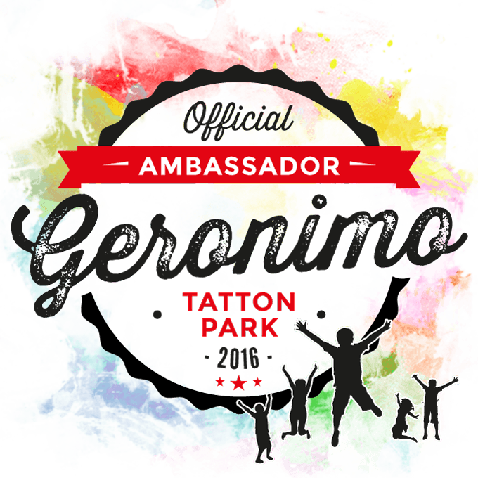 We're an Official Geronimo Ambassador for 2016