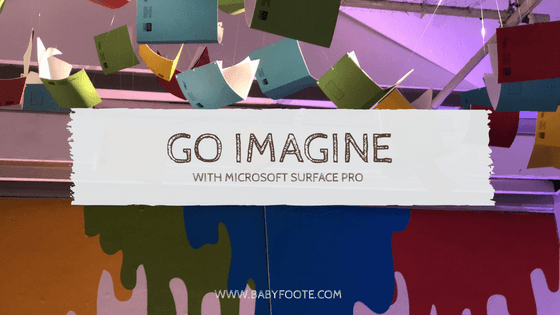 #goimagine with Microsoft Surface in partnership with John Lewis