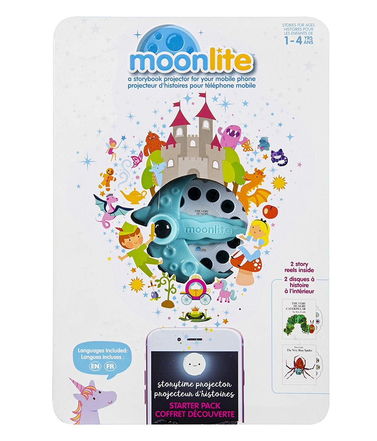 Moonlite Story Projector – The Very Hungry Caterpillar GIVEAWAY!