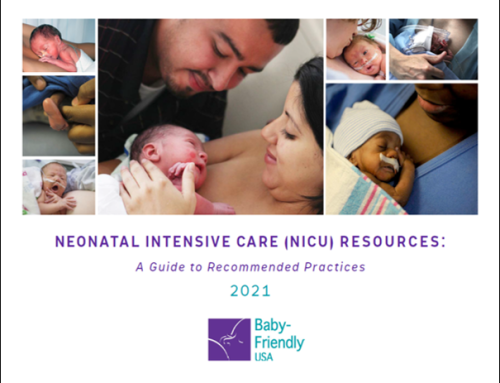 BFUSA Releases Toolkit to Bring Baby-Friendly Principles to the NICU