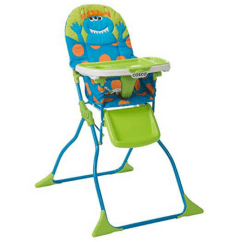 Small High Chair Hanging Porch Best Chairs For Spaces Babygearspot Cosco Simple Fold Deluxe
