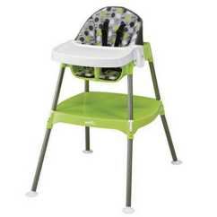 Small High Chair Used Baby Chairs For Sale Best Spaces Babygearspot Evenflo Convertible