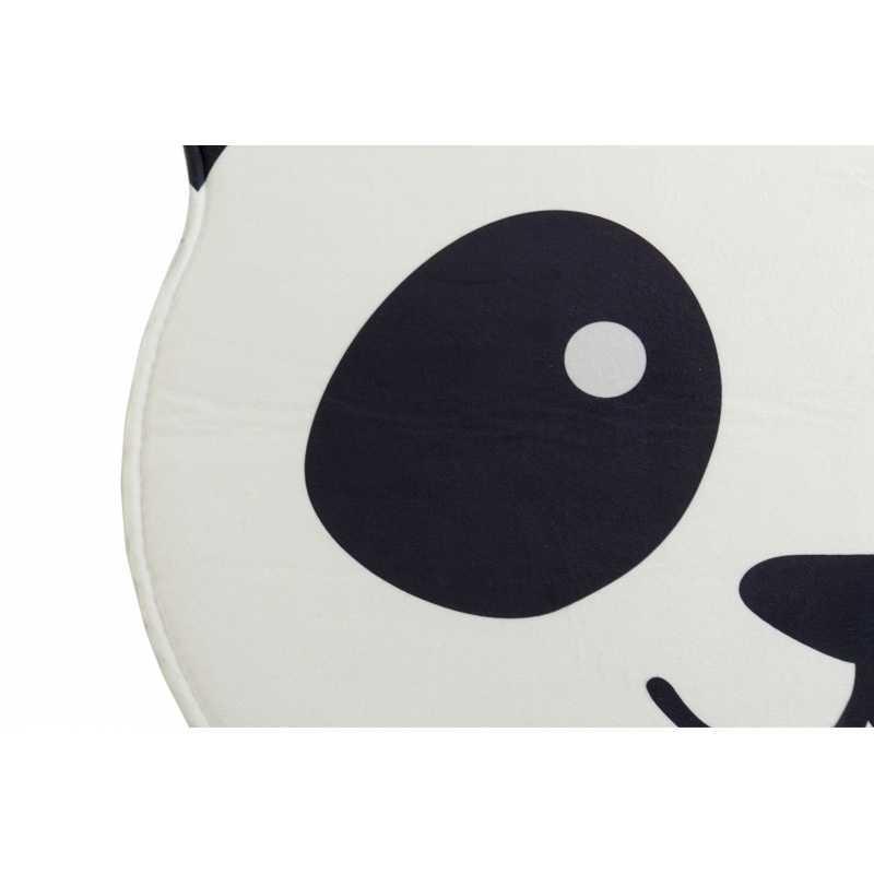 tapis chambre enfant panda blanc