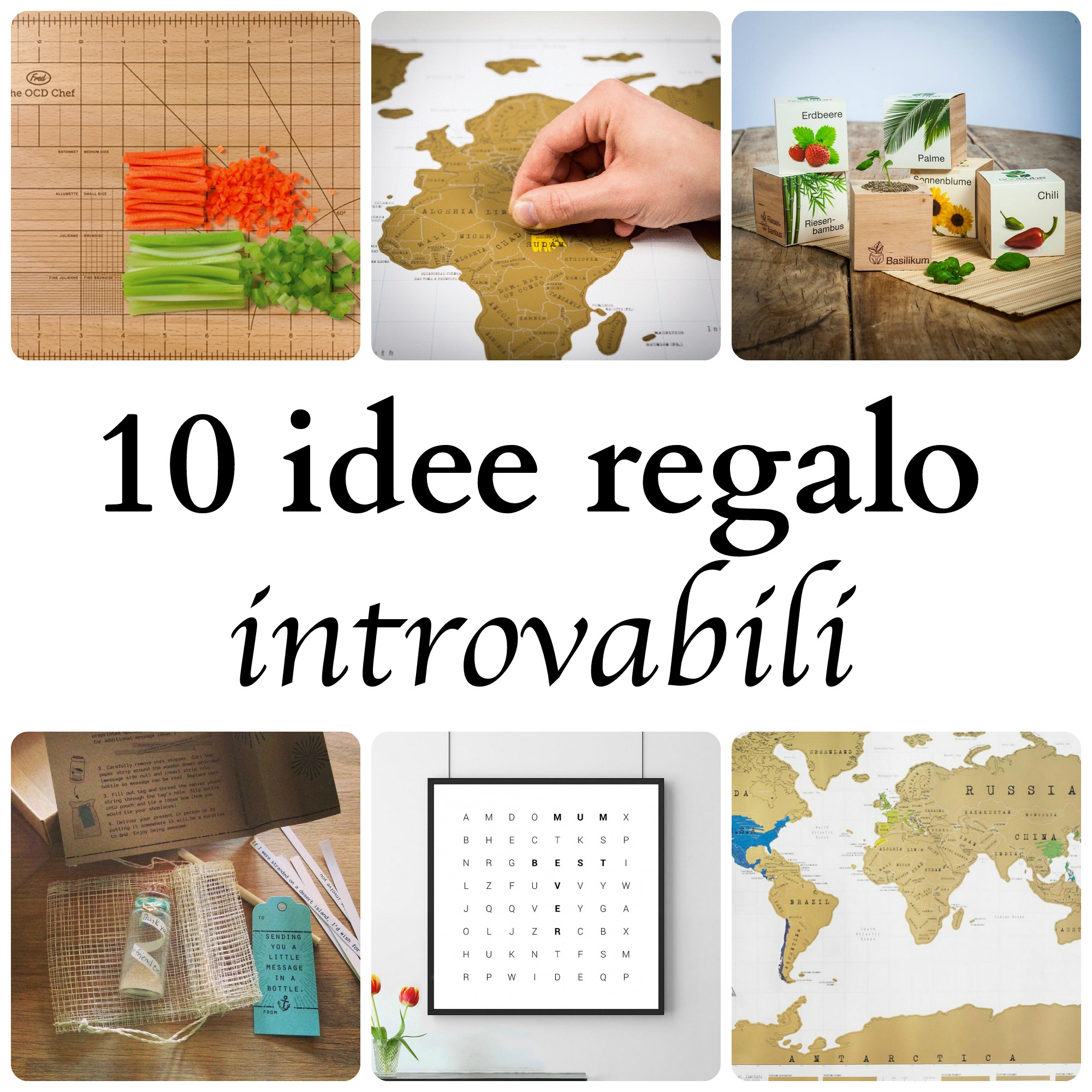10 idee regalo introvabili  BabyGreen
