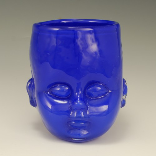 Baby Head Cup Blue