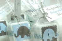 DIY Baby Boy Shower Favor