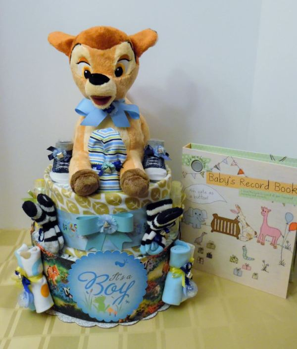 Disney Baby Shower Diaper Cake