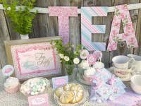 Tea Party Baby Shower Ideas - Baby Ideas