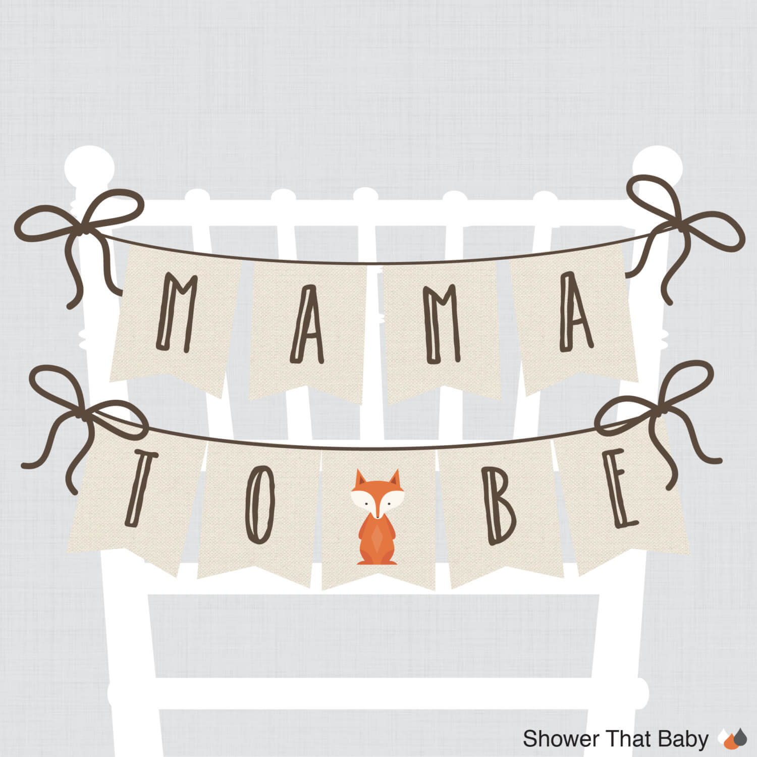 how to make a baby shower chair drive medical bathroom safety tub bench grey lots of banner ideas 43 decorations