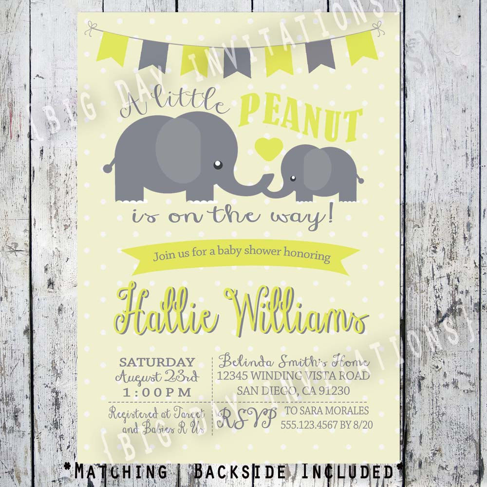 Image Result For Elephant Baby Shower Decorations Gender Neutral