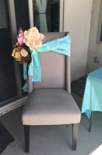 Baby Shower Chair Decorations | www.imgkid.com - The Image ...