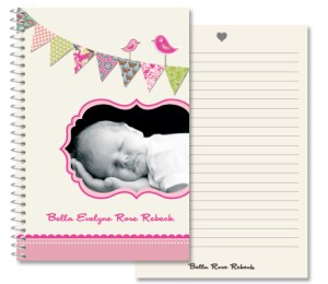 Baby Bunting Girl Journal