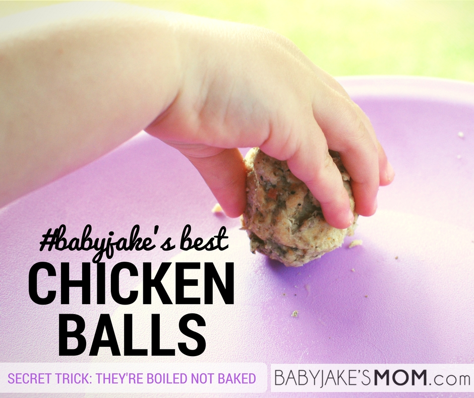 Babyjakes best chicken balls the secret theyre boiled not baked babyjakes best chicken balls the secret theyre boiled not baked baby jakes mom forumfinder Image collections