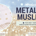 The New Metallic Range from aden + anais