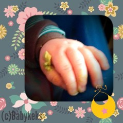 putziges Avocado-Händchen