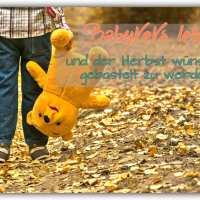 Babykeks lebt und der Herbst wünscht gebastelt zu werden
