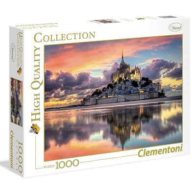 Clementoni-Le Magnifique Mont Saint-Michel Puzzle, 1000 Pezzi