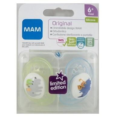 MAM origina 6+ mesi in silicone 2 pezzi edizione limitata
