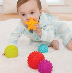 baby sensory toy - tactile balls