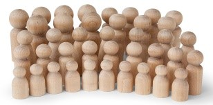 toy wooden figures