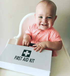 Baby led weaning - be first aid ready